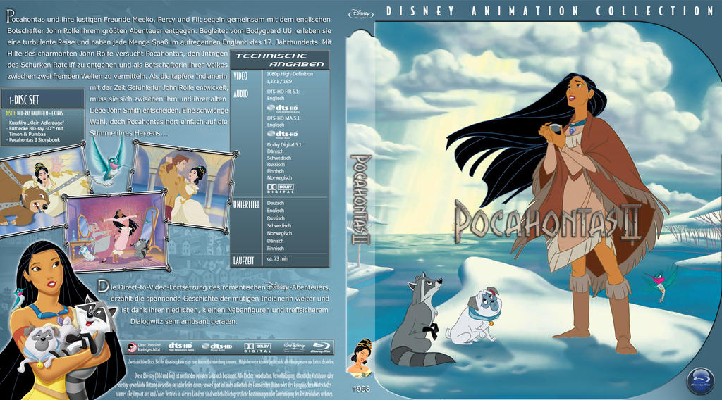 Br Disney Pocahontas 2 Tfj by trickfilmjunkie