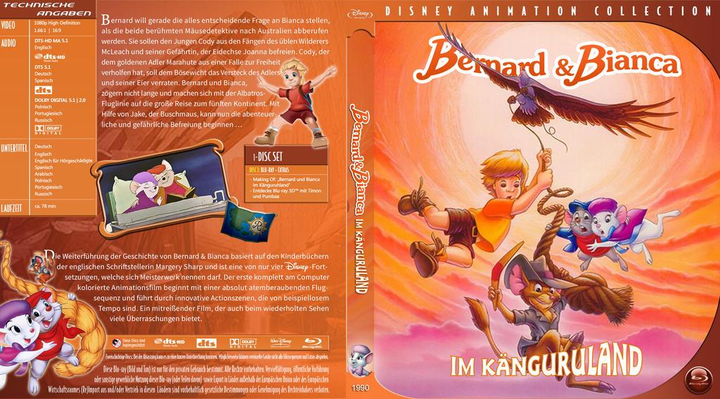 Br Disney Bernard Und Bianca 2 Tfj by trickfilmjunkie