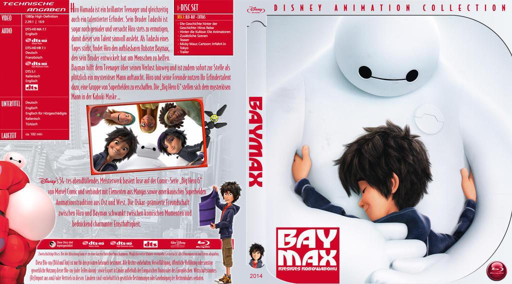 Br Disney Big Hero 6 Tfj by trickfilmjunkie