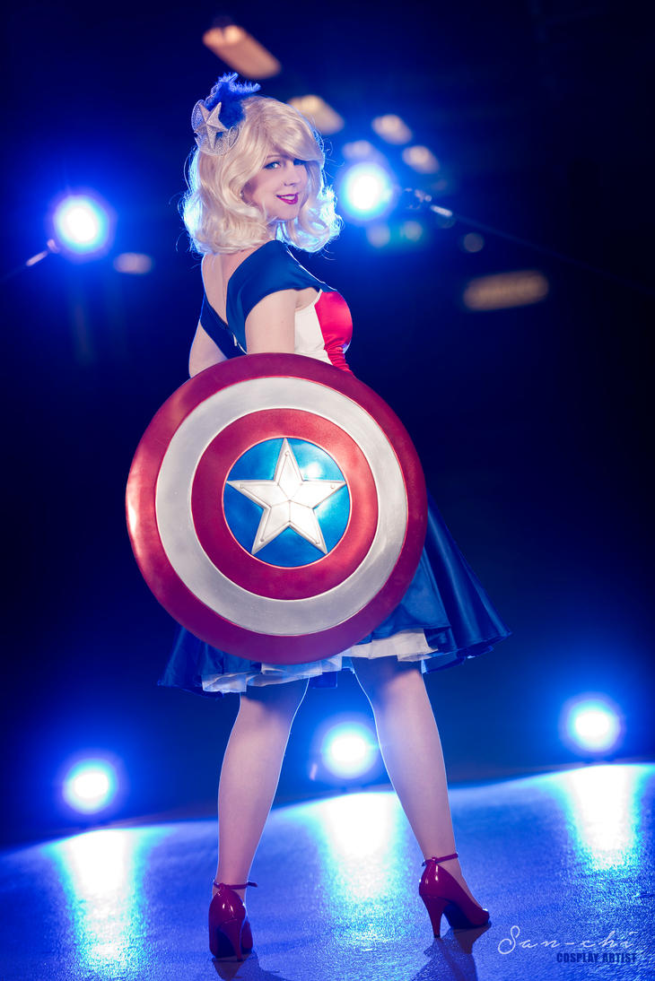 Miss Captain America by xSan-chi