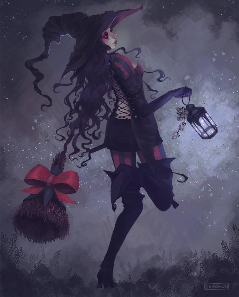 witch by Seiashun