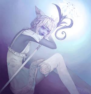 white mage blues by Seiashun
