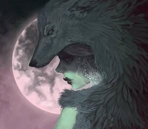 Drawtober - Wolf's Bane by Seiashun
