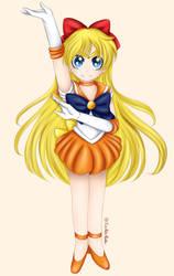 Sailor Venus by FirePokeMaster