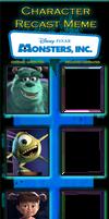Monsters INC. Recast Meme