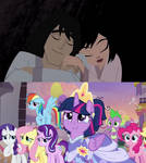 Mane 6 Happy For Jack and Ashi Ending