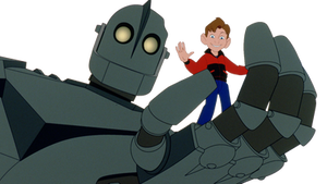 The Iron Giant and Hogarth Vector