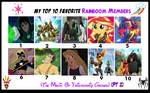 My Top 10 Favorite Rainboom Members (PT 2)