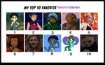 My Top 10 Favorite Heroes Of Chi Members