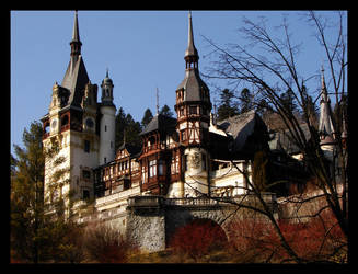 Peles Castle by ALP-Dreams
