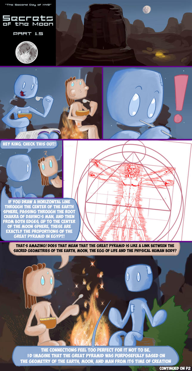 Secrets of the Moon Part 1.5 (Page 1) by Duchednier