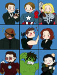 The Avengers Bunch
