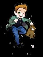 Dean Winchester Chibi by PredieNerdie