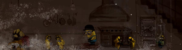 Minion's Baking, Bad. by artclee