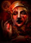 Blood Maja and Butterflies -Version II-