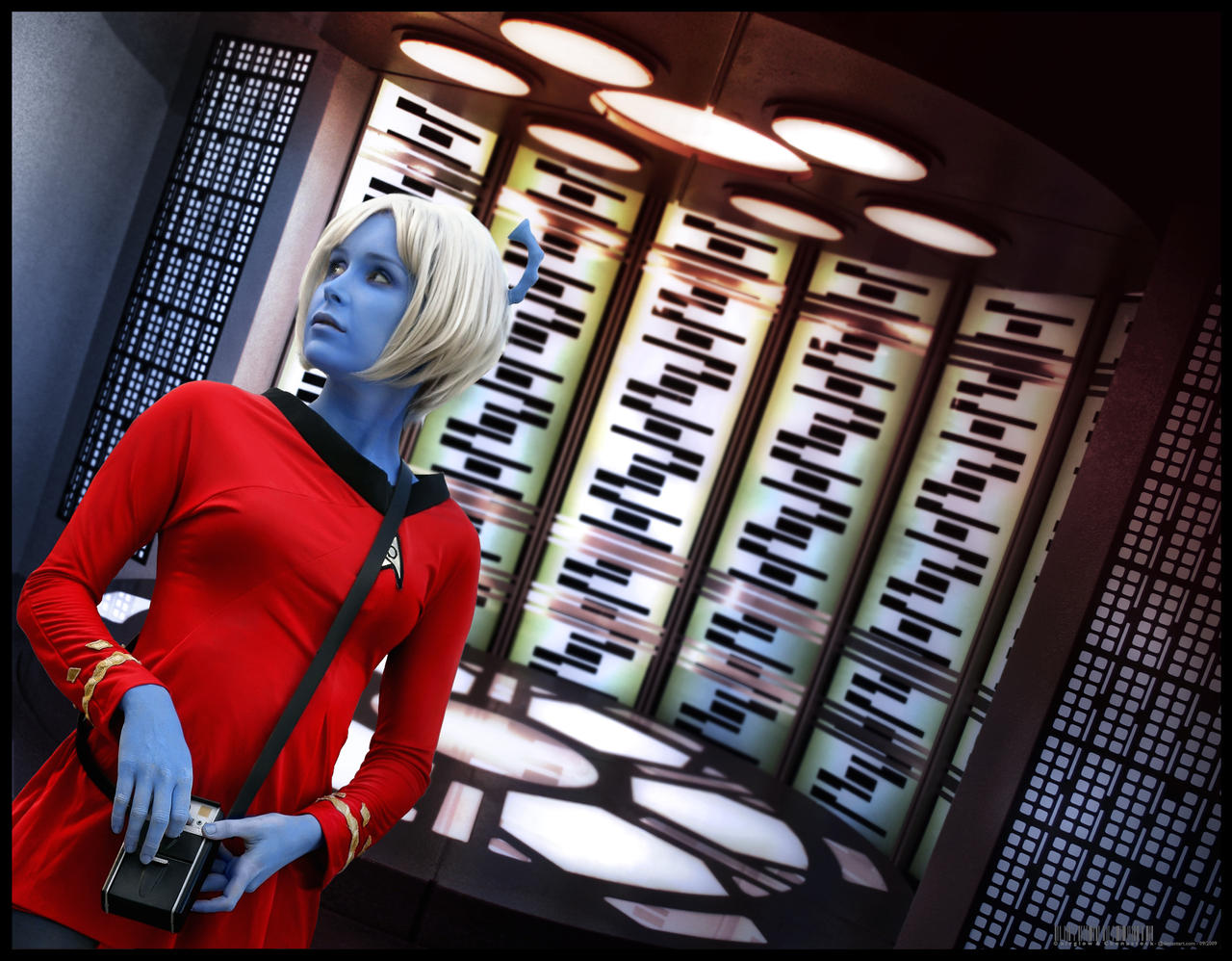 Andorian Girl by airglow