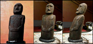 Black Moai by airglow