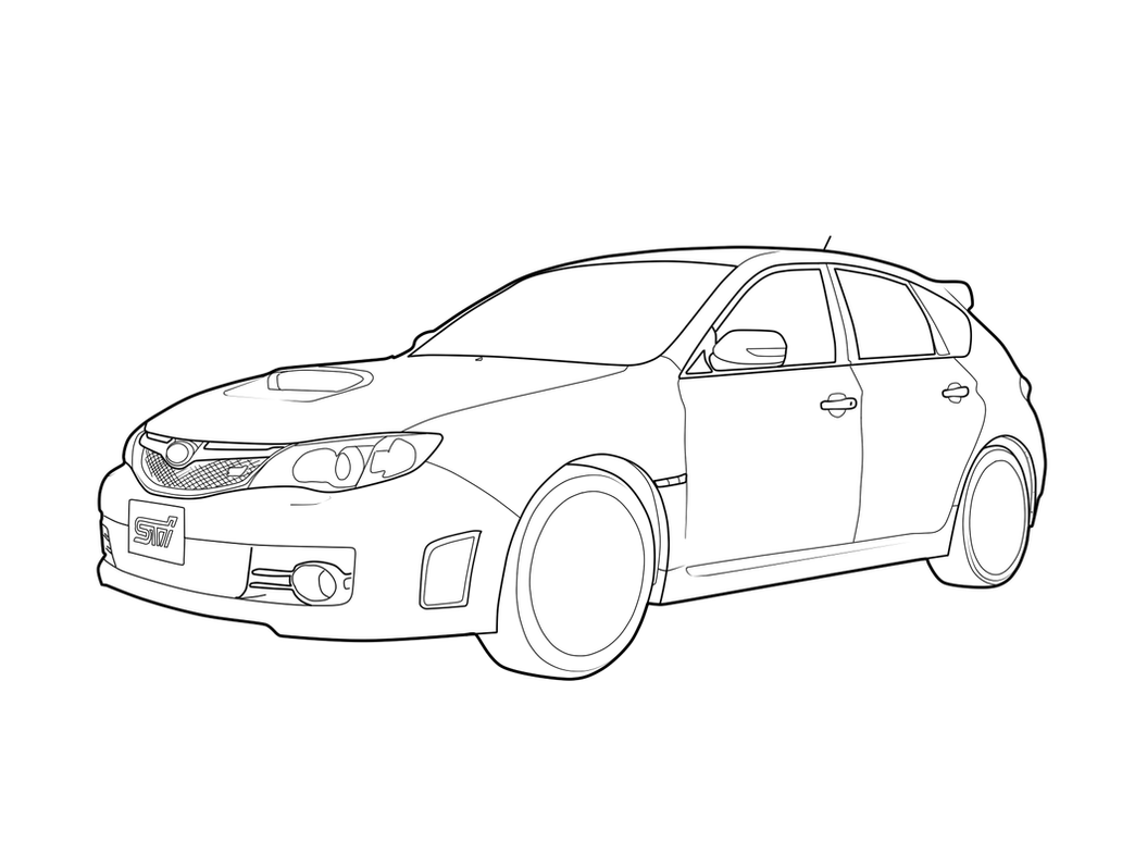 Subaru Impreza WRX STI Wip 179802947 on subaru wrx sti drawing