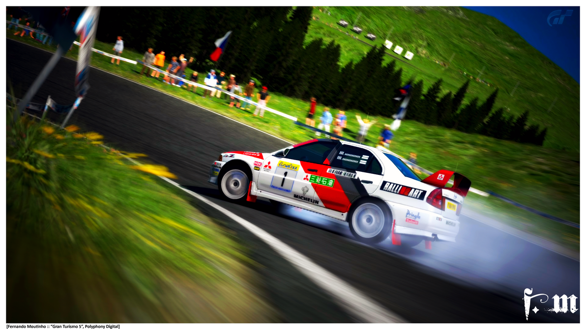 Mitsubishi Lancer EVO IV Rally.2 by vanheart on DeviantArt