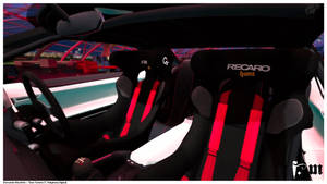Toyota FT-86 G Sport Concept [interior] by vanheart