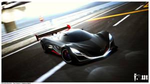 Mazda Furai.1 by vanheart
