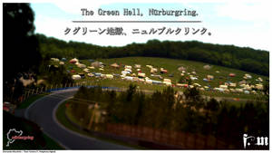 Postcard - The Green Hell, Nurburgring by vanheart