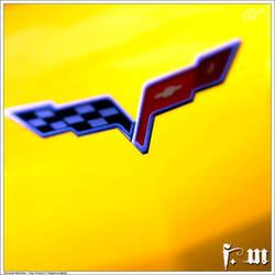 Chevrolet Corvette Badge by vanheart