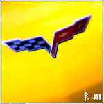Chevrolet Corvette Badge