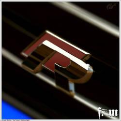 Volkswagen R badge by vanheart