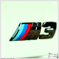 BMW M3 Badge by vanheart