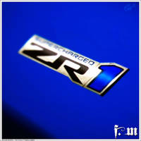 Chevrolet Corvette ZR-1 Badge