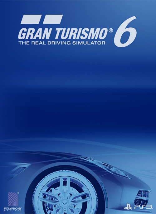 Gran Turismo 6, (yet another) experimental poster by vanheart