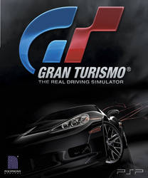 Gran Turismo for PSP, experimental poster by vanheart
