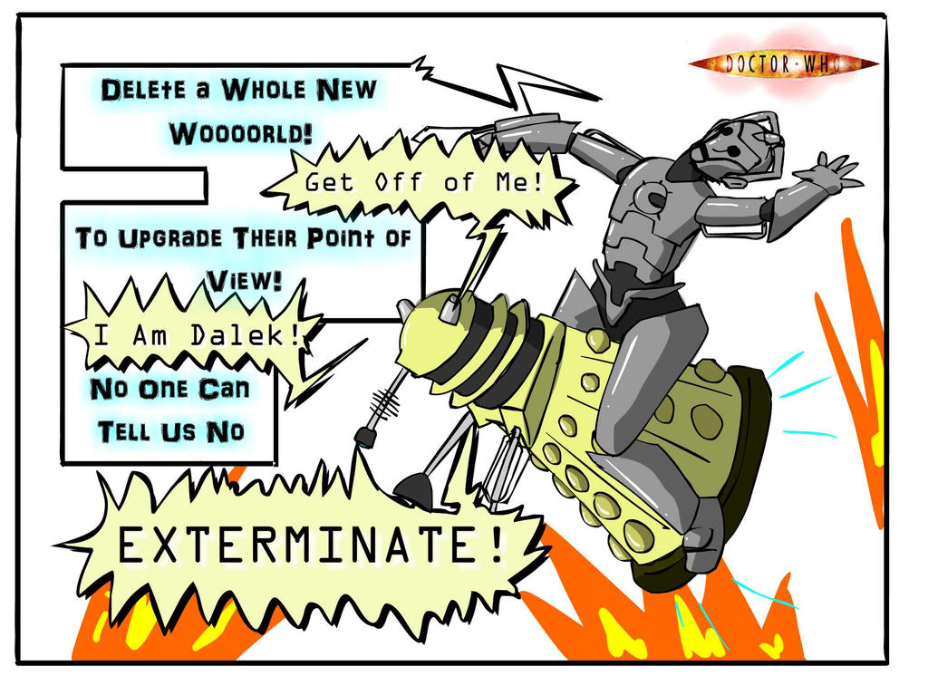 upgrade delete exterminate a whole new world by tualvanuel on
