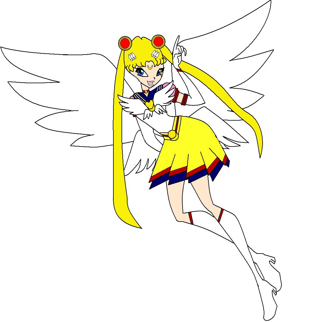 Sailor Moon Versus Winx By Beatrice Dragon Team On Deviantart
