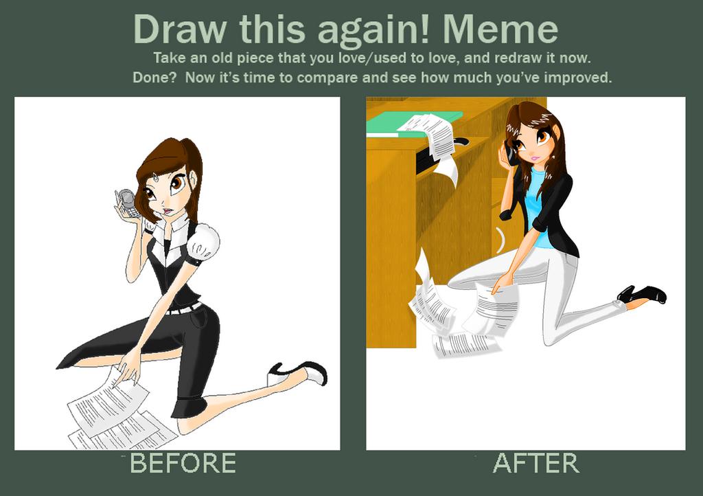Meme evolution 2012 - 2014 by Beatrice-Dragon-Team