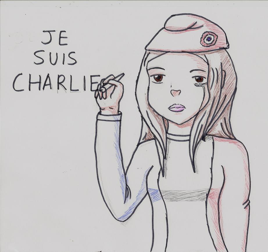 JE SUIS CHARLIE HEBDO by Beatrice-Dragon-Team