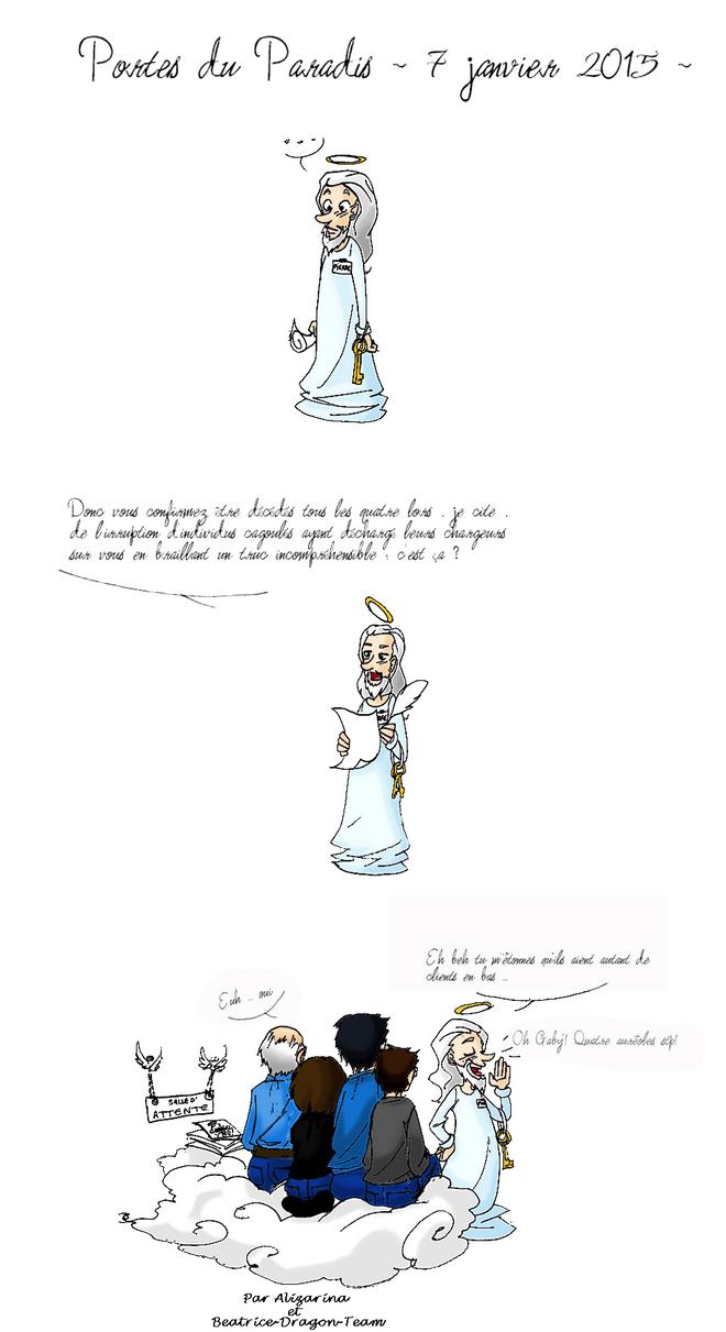 les dessinateurs aux portes du paradis by Beatrice-Dragon-Team