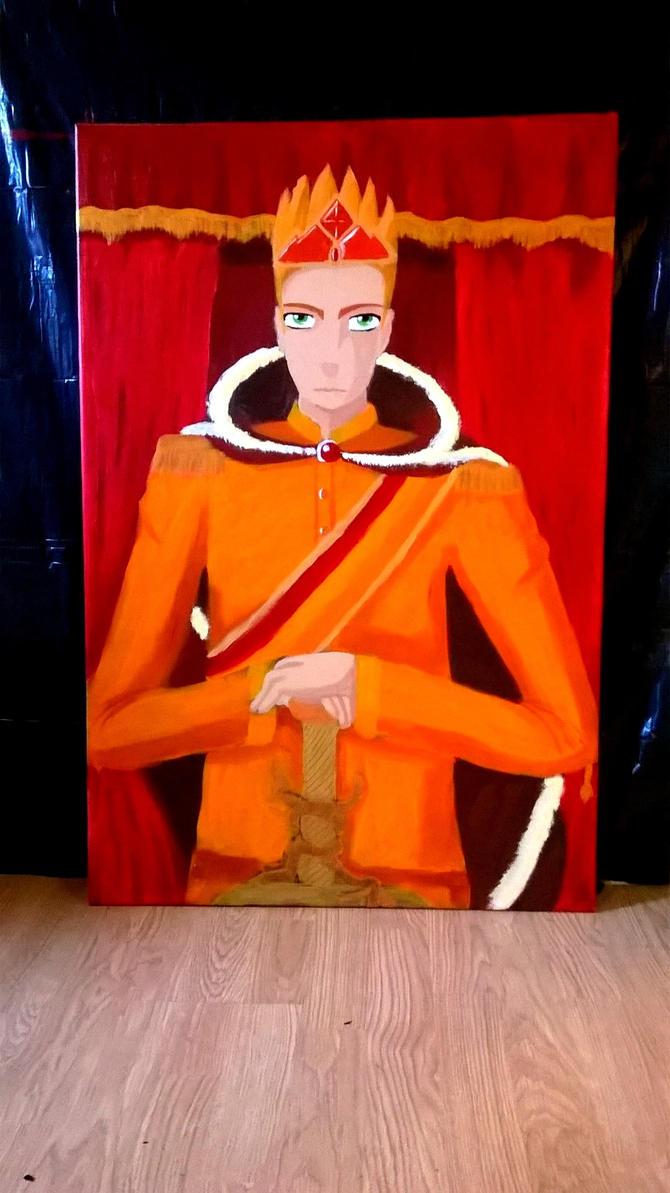 Tino portrait by Beatrice-Dragon-Team