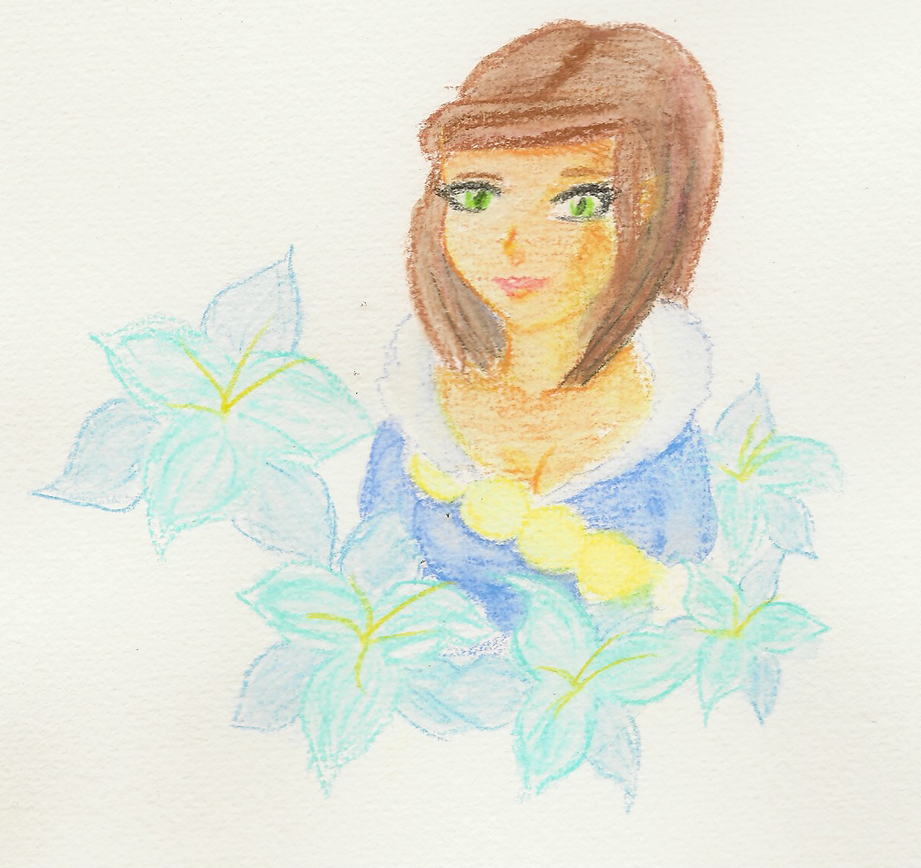 My first watercolor by Beatrice-Dragon-Team