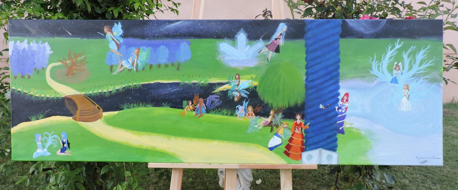 Le jardin de la creation by beatrice dragon team on deviantart for Art jardin creation
