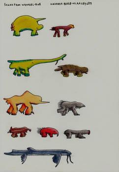 Fauna from Wrangel