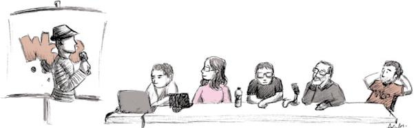 Algunos ilustres Webcomiqueros by Anamarek