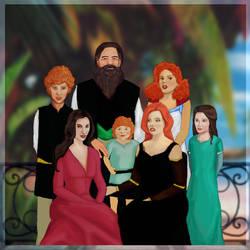 OC: Ludlow Family by Kotorchix