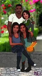 Mass Effect: Shepard Family by Kotorchix