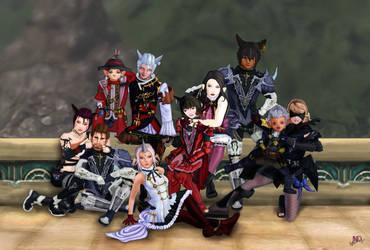 Final Fantasy Commission by Kotorchix