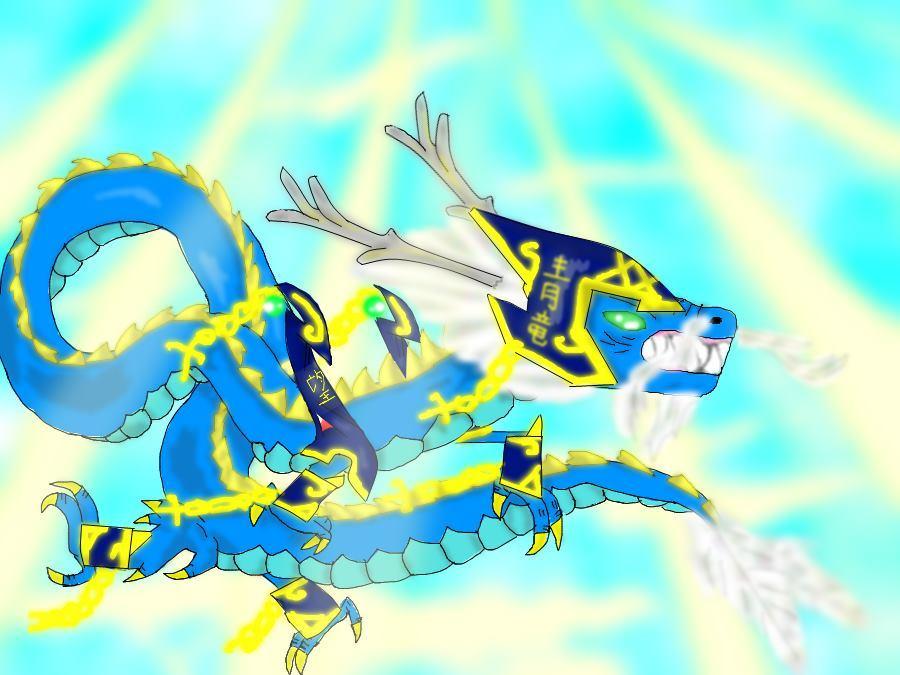 erementaru saga Dragon Of The Azure Heavens Seiryu by Shane-zero