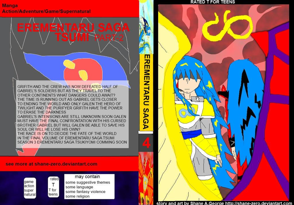 Erementaru Saga Vol 4 Cover by Shane-zero