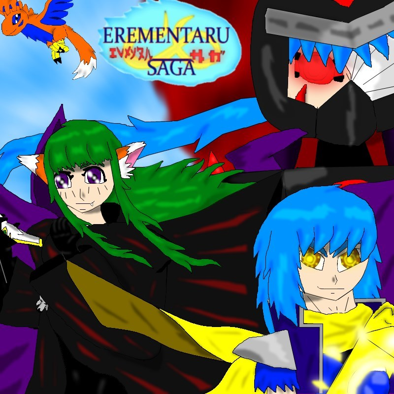 Erementaru Saga Promo Pic by Shane-zero