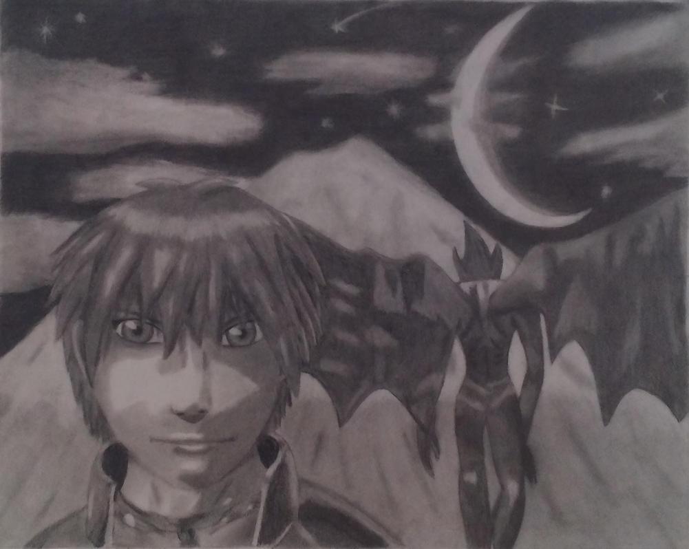 yuri hyuuga-shadow hearts by Shane-zero